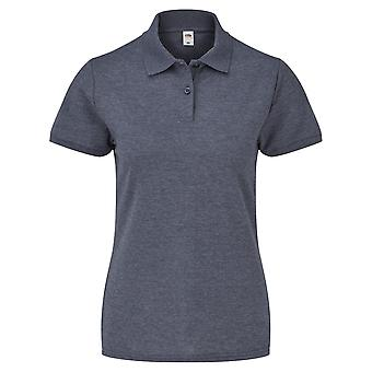 Fruit Of The Loom Womens Lady-Fit 65/35 Short Sleeve Polo Shirt