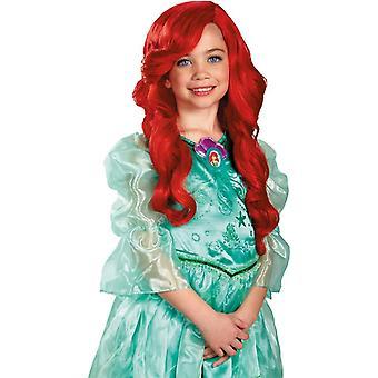 Lapsi peruukki Ariel puku