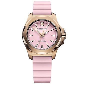 Victorinox Swiss Army Watches 241807 I.n.o.x. Rose Gold & Pink Rubber Ladies Watch
