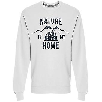 Natur är mitt hem Design Sweatshirt Men & apos; s-Bild av Shutterstock