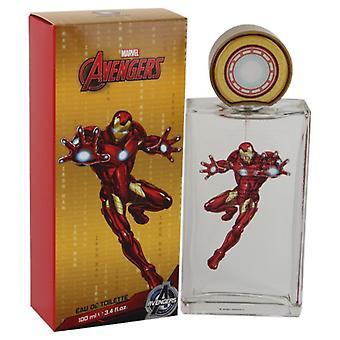 Silitysrauta mies Avengers Marvel Eau De Toilette Spray 3,4 oz/100 ml (miehet)