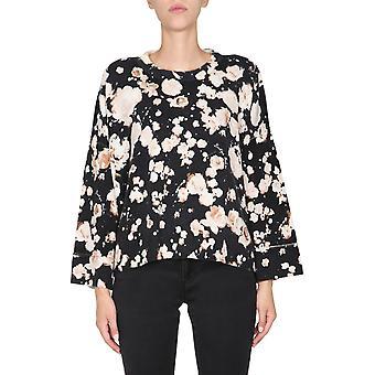 Boutique Moschino 091758071555 Dames's Wit/zwarte wollen trui