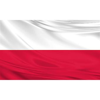 Pack of 3 Poland Flag 3ft x 5ft Polish Polyester Fabric Country National
