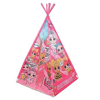 lol surprise play tent teepee mv sports sturdy poles with tie back door for ages
