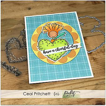 Picket Fence Studios Have A Cheerful Day Clear Stamps