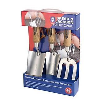 Spear and Jackson TRAD3PS Traditional Stainless 3 Piece Gift Set