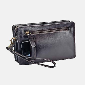 Primehide Womens Small Travel Clutch Bag met polsband dames 8210