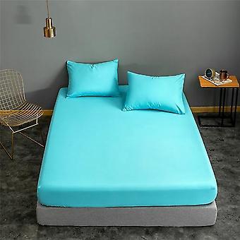 Twin Full Queen Size Fitted Bed Sheet Sets With Elastic Covers