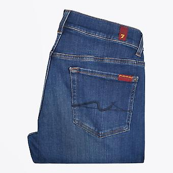 7 For All Mankind  - Ronnie Stretch Tek Jeans - Battle Blue