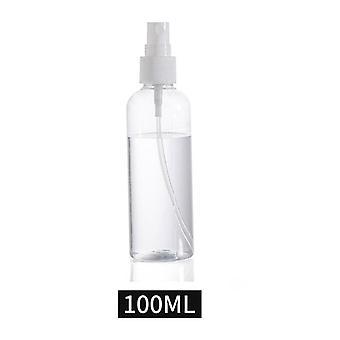 Läpinäkyvä tyhjä spray pullot säiliö