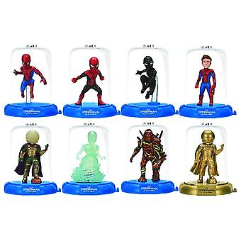 3-Pack Spider-Man Far From Home Domez Collectible Minis Figurer 7cm