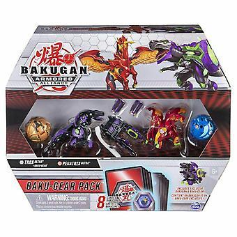 Bakugan Baku-Gear Pack S2 - Trox Ultra & Pegatrix Ultra