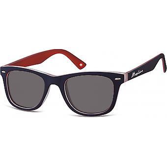 Óculos de Sol Unisex por SGB azul/vermelho (M42)