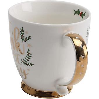 CGB Giftware Christmas Eat Drink and Be Merry Mug