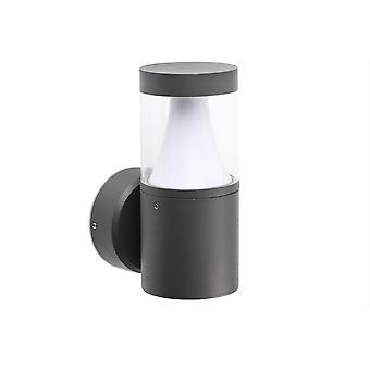 Faro Plim - Udendørs LED væglampe mørkegrå 10W 3000K IP65