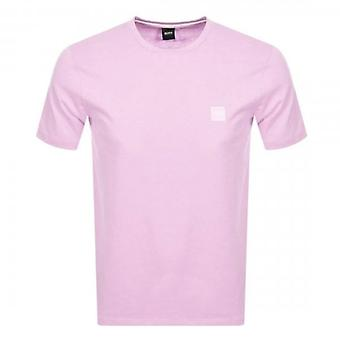 Boss Orange Hugo Boss Tales Plain T-shirt Light Pink 50389384