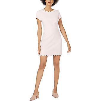 Maison Jules   Scalloped Sheath Dress
