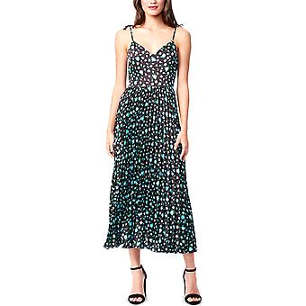 Betsey Johnson | Floral Pleated Midi Dress