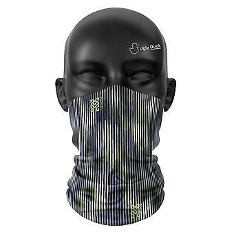 Blaue Bambus Farben Snood Gesicht Maske Schal Neckerchief Kopf abdeckung Tube Buff
