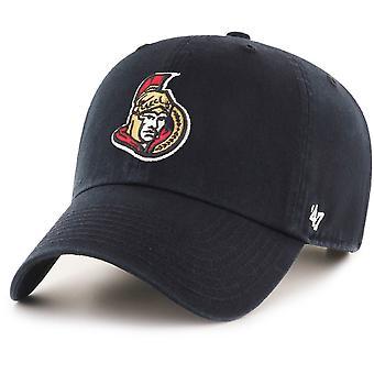 47 fire Adjustable Cap - CLEAN UP Ottawa Senators black
