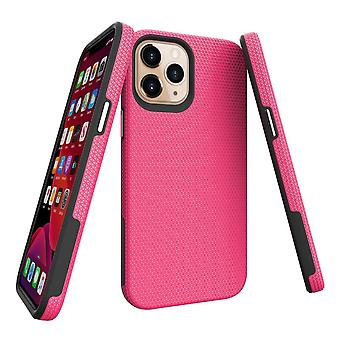 For iPhone 12 Pro Max Case Armour Shockproof Strong Light Slim Cover Pink