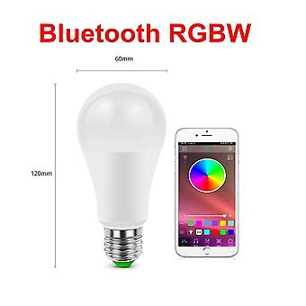 Smart Dimmable Led Lamp Home Bluetooth Bulb Base Ac Neon Light Music App