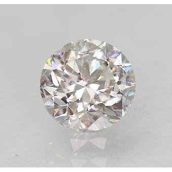 Certyfikowany 0,50 karatowy D VS2 Okrągły Brilliant Ulepszony Naturalny Luźny Diament 4,85 mm