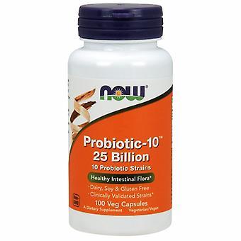 Jetzt Lebensmittel Probiotic-10, 100 Vcaps