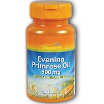Thompson Evening Primrose Oil, 500 MG, 30 Sftgls