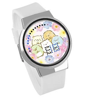 Impermeabil luminos LED Digital Touch Ceas pentru copii - Sumikkogurashi #58
