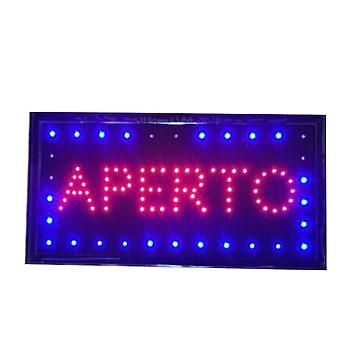 Neon Led Animation Open Sign Customer Attractive Sign Shop Store Sign