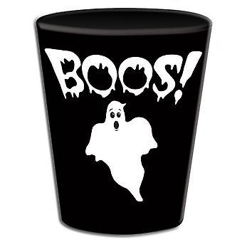 Forum uutuudet Halloween Naamiaispuvut Tarvikkeet - Uudelleenkäyttö Ghostly Spirit Muovi Shot lasit (12 Pakkaus)