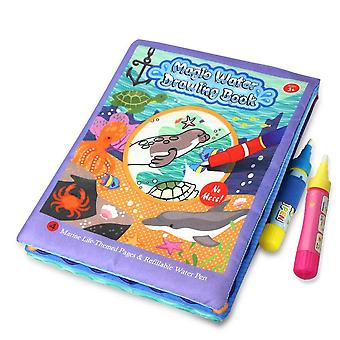 Cartoon Pattern Water Book Doodle With Magic Pen, Creativity Developing