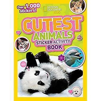 Cutest Animals Sticker Activity Book: Over 1,000 stickers!