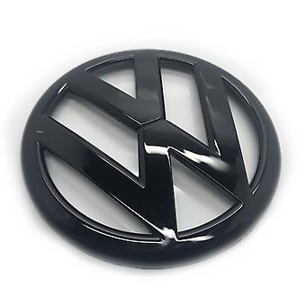 Kiilto Musta VW Volkswagen Caddy taka boot kansi trunk badge tunnus 2011-2015 130mm