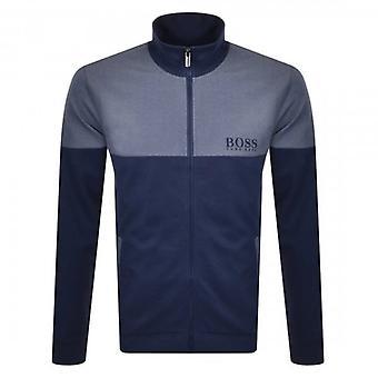 Hugo Boss Tracksuit Zip Up Blue Loungewear Sweatshirt 50443053