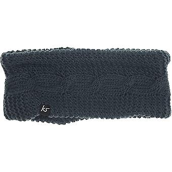 Kitsound Cable Knit Audio Headband with Built-In Headphones Speakers