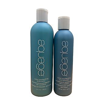 Aquage Farbschutz Shampoo 12 OZ & Conditioner 8 OZ Set
