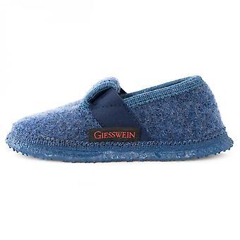 GIESSWEIN Wool Slippers Blue Turnberg
