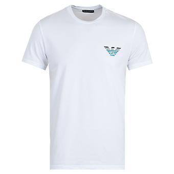 Emporio Armani Sustainable Pop Logo T-Shirt - White