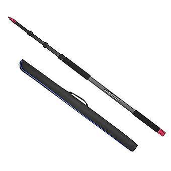 Andoer 3m lätt kolfiber mikrofon boompole mic bommen polen hållare arm, max. belastning 3kg/6.6lb