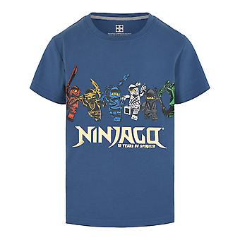Lego indossa Legowear Boys Tshirt 10Y Spinjitzu Dusty Blue