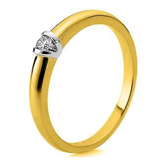Luna Creation Promessa Solitairering 1D871GW456-2 - Largura do anel: 56