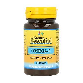 Omega 3 (EPA 35% DHA 25%) 50 softgels