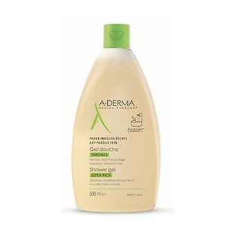 A-Derma Overweight Shower Gel 500 ml gel