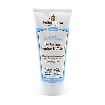Organic fresh leg thermal gel 100 ml of gel