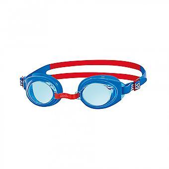 Gafas de natación Zoggs Ripper Junior 6-14 años - color lente - marco azul
