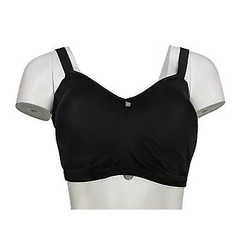 Breezies Seamless Comfort Side Smoothing Lounge Bra Black A375639