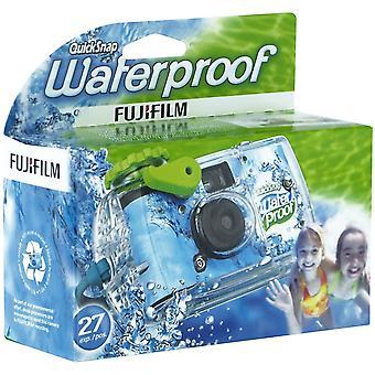 Fujifilm hurtig snap vandtæt 27 exp. 35mm kamera 800 film, blå / grøn / hvid, 1 pakke