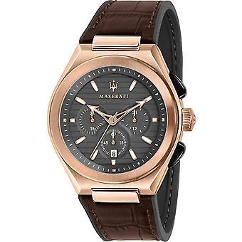 Mens Watch Maserati R8871639003, Quartz, 43mm, 10ATM